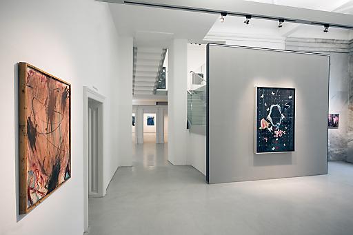 Im Rahmen einer Voreröffnung der Ausstellung am 23. April besuchten beide Künstler das Arnulf Rainer Museum und zeigten sich von den Ergebnissen der gemeinsamen Schau begeistert.