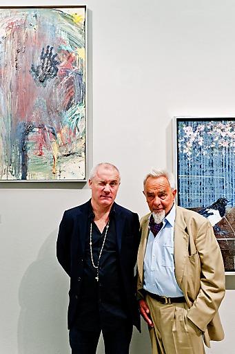 Damien Hirst & Arnulf Rainer