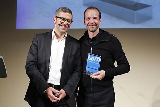 Jurymitglied Andre-M. Bajorat und Netural-CEO und Roomle-Gründer Albert Ortig.