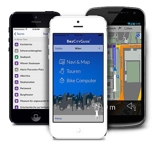 Die schon mehrfach ausgezeichnete Fahrrad-App, die für iOS und Android verfügbar ist, ist nun in 47 Städten Europas erhältlich.