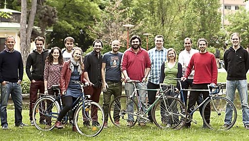 Das Team von BikeCityGuide Apps GmbH