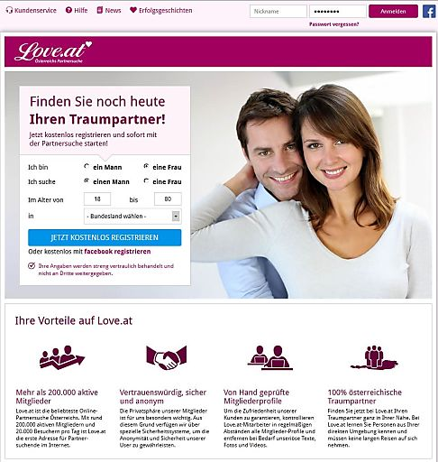 Online partnersuche at