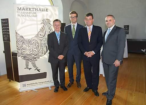 anlässlich der Eröffnung der Markthalle Kulinarium Burgenland