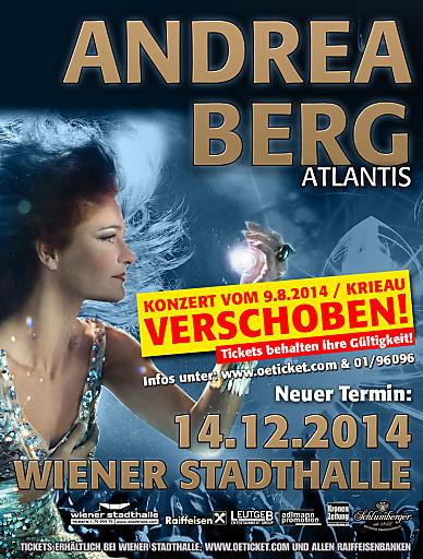 Andrea Berg Atlantis Tour 2014