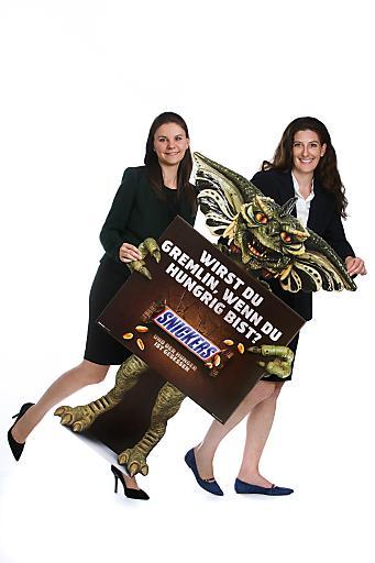 Im Bild v.l.n.r.: Mag (FH) Petra Kaufmann (Brand Manager Chocolate Bars), Petra Nothdurfter (Marketing Director Chocolate & Food), MARS Austria OG