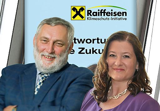 Dr. Franz Fischler (RKI-Vorsitzender) und Mag. Andrea Weber (RKI-Geschäftsführerin).
