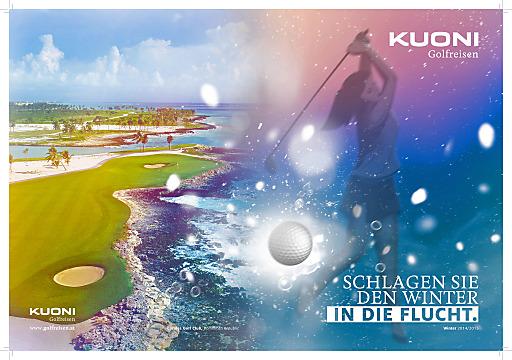 Kuoni Golfreisen Katalog Winter 2014/2015