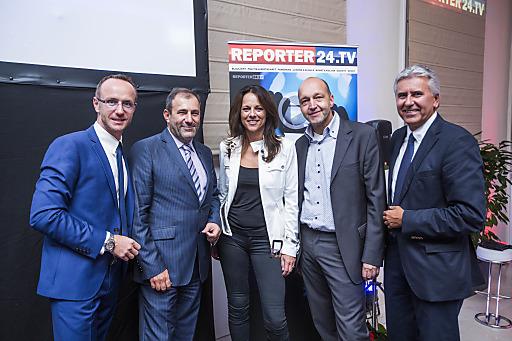 Jürgen Peindl, vor kurzem noch Nachrichten-Chefredakteur der ProSiebenSAT.1PULS4-Gruppe, präsentierte am 9.9 das von ihm gegründete neue Internet-Portal REPORTER24.TV.