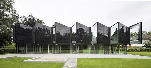 "ertex solar Module in schwarzem Design Objekt "" Kita Marburg"""