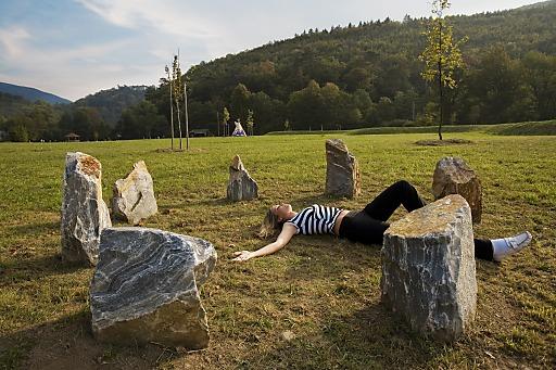 Sommeratmosphäre im Spirit Park des Seminar- und Eventhotels Krainerhütte