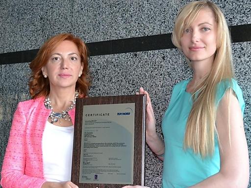 UKRPLASTIC hat ein internationales BRC/IOP Zertifikat bekommen
