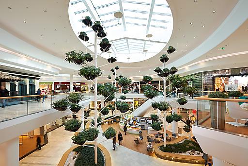 Die Garden City in der Shopping City Süd