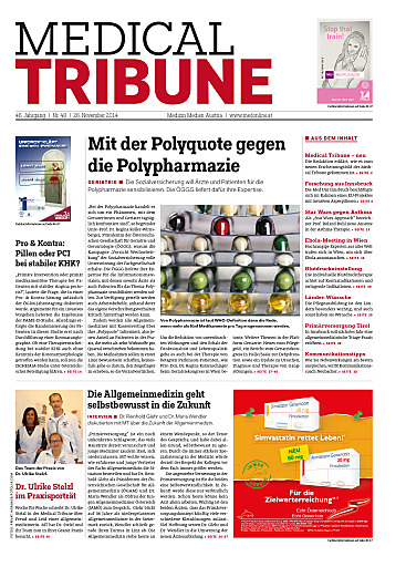 Cover Medical Tribune Österreich