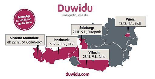 Die mobilen duwidu Fotostudios haben bereits bereits in vier österreichischen Bundesländern eröffnet.