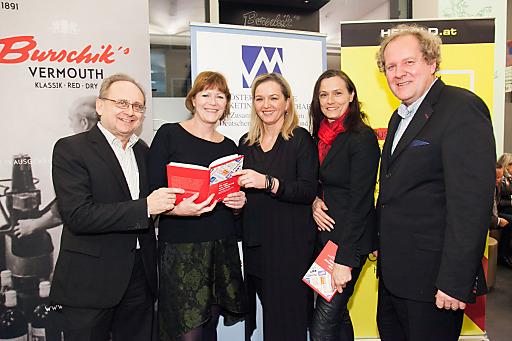 Im BIld v.l.n.r.: Peter Drobil, Gabriele Stanek, Sigrid KrupicaI, lse Helmreich, WalterZinggl