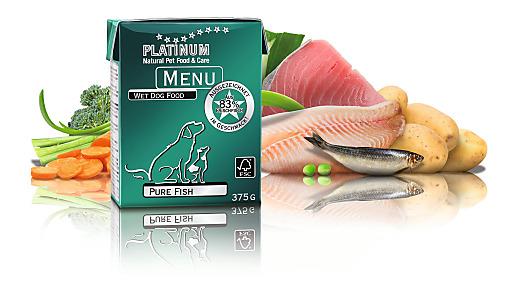 """Das neue PLATINUM MENU """"Pure Fish"""" ist dank seiner natürlichen Zutaten leicht bekömmlich."""
