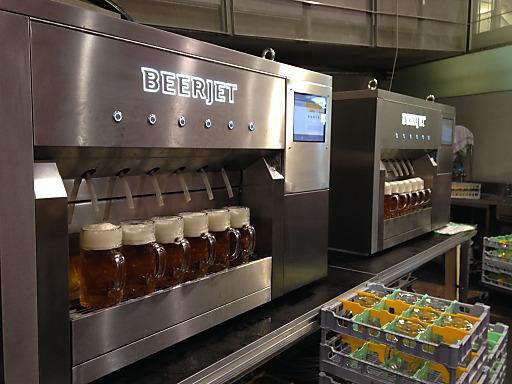 Beerjet 6 im Einsatz auf der Wiener Wies'n