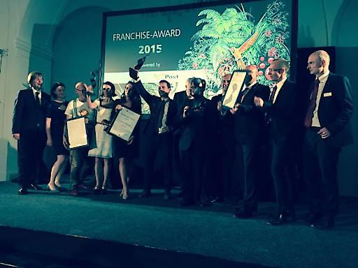 Franchise Gala 2015 Sieger Foto