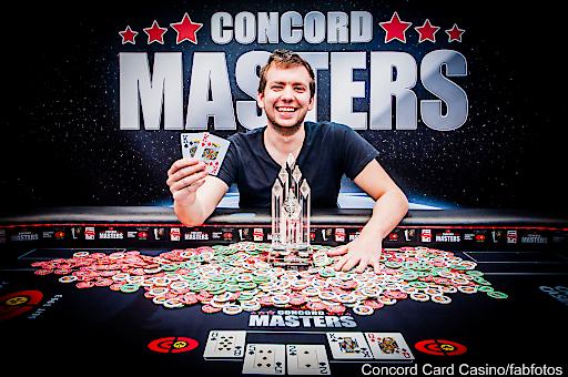 Concord Masters Gewinner Paul Rosner