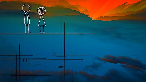 """Still aus dem neuesten Film von Don Hertzfeldt: World of Tomorrow. Teil des Wettbewerbsprogramms """"Animation Avantgarde"""" von VIS Vienna Independent Shorts. Im Stadtkino im Künstlerhaus am Freitag, 29. Mai 2015, 21:30 Uhr."""