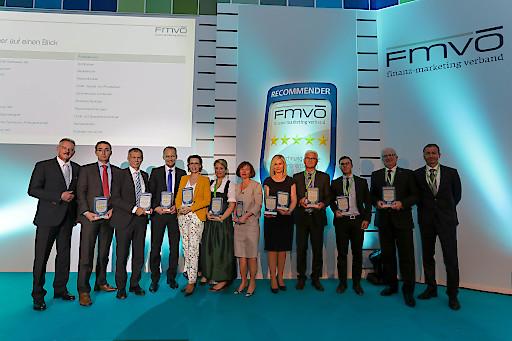 Die Sieger des FMVÖ-Recommender-Award 2015