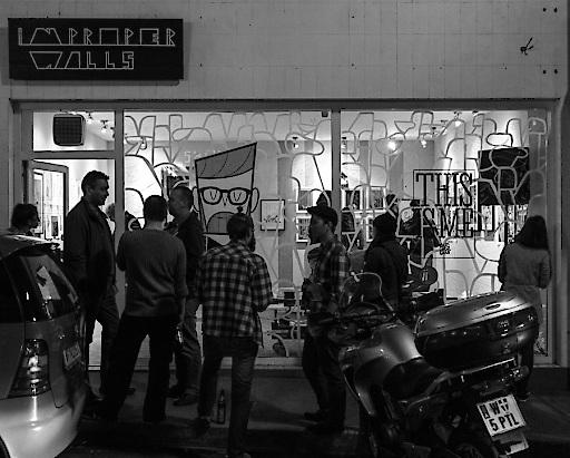Trendiger POP-UP Store in Wien als Treffpunkt für Kreative.