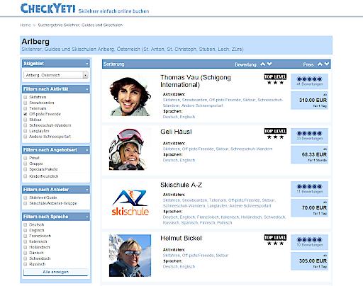 CheckYeti - Screenshot
