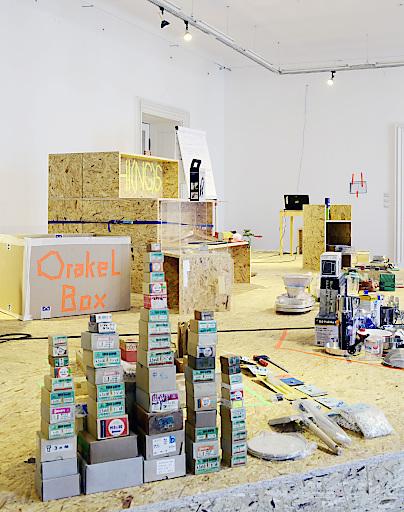 Einblick in die Ausstellung: Klimesch - Das Geschäft mit den Dingen Nahversorger im Museum