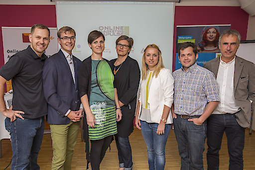http://www.apa-fotoservice.at/galerie/6778/ Veranstalter und Vortragende im Bild v.l.n.r.: Karl Kowald, Andreas Raab, Susanne Hartinger, Karin Thiller, Ines Eschbacher, Werner Aschenbrenner, Jürgen Kapeller.