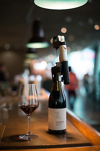 Das neue Coravin-System ermöglicht über 100 offene Weine auf der WEIN & CO-Barkarte