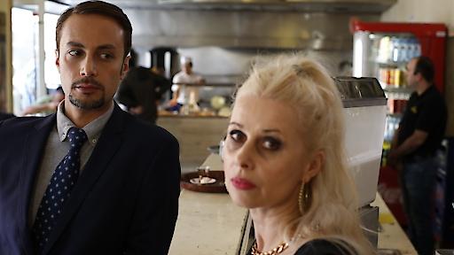 Hakan und Sissi im Restaurant Kent