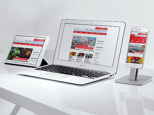 Neue, optimierte Website der Stadt St. Pölten online - als erst zweite österreichische Landeshauptstadt - nach Klagenfurt – mit Responsive Design gestaltet