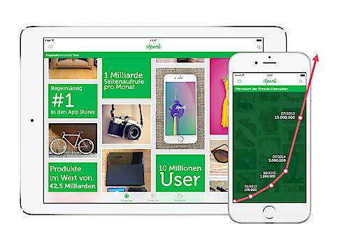 Die Flohmarkt-App Shpock feiert 10 Millionen User und den internationalen Durchbruch