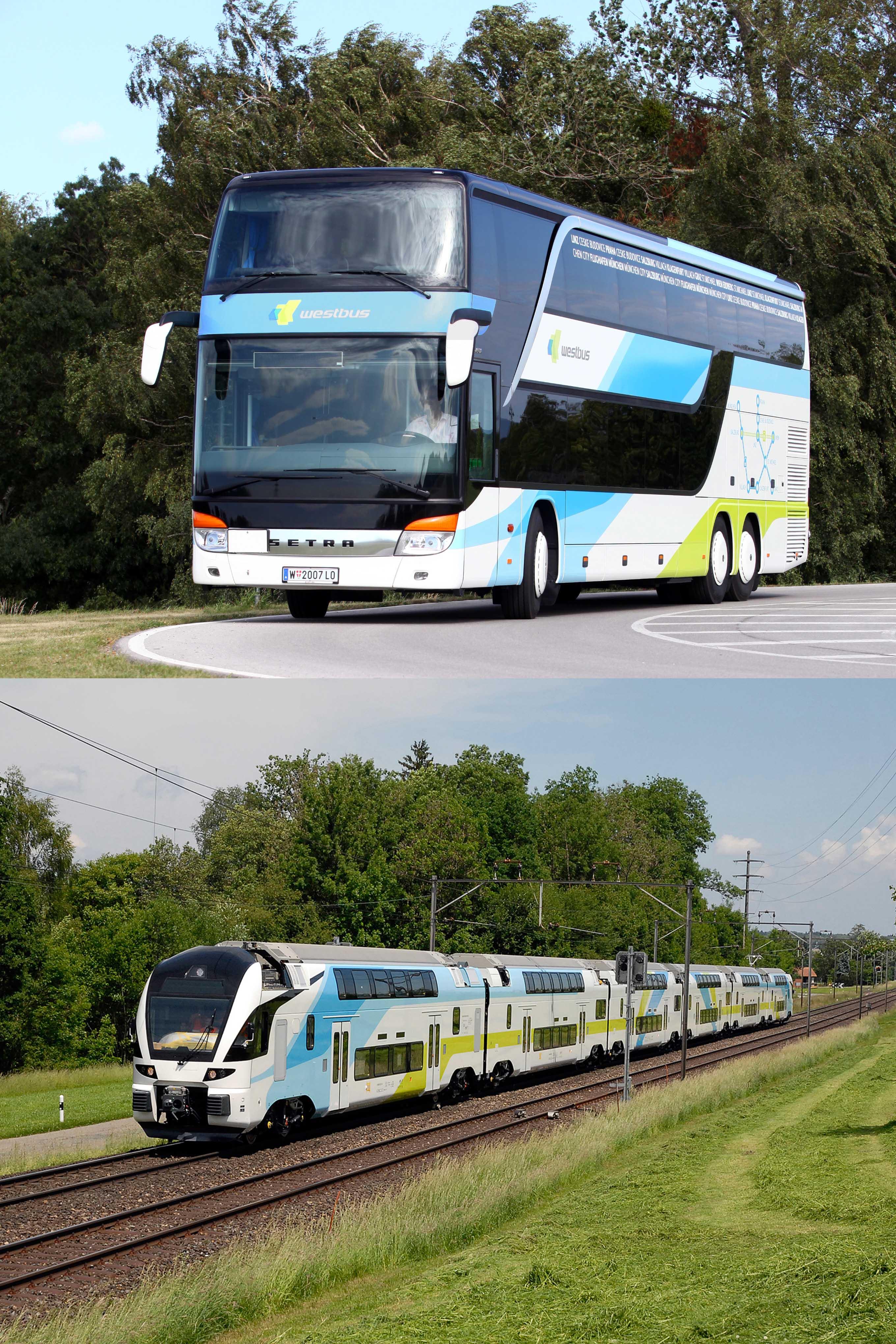 Westbus Erweitert Fahrplan Neue Kombitickets Von Westbahn