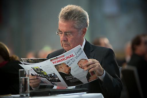 Bundespräsident Heinz Fischer liest KOMMUNAL