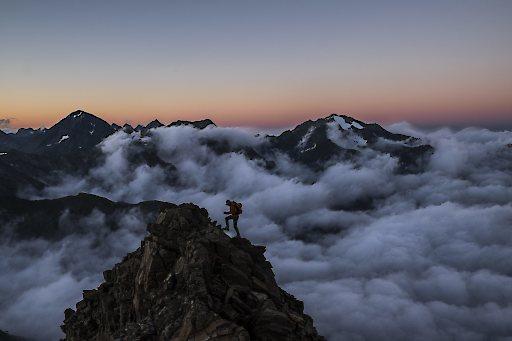 Österreichs bekanntester Berg- und Landschaftsfotograf bei einem Fotoseminar sowie einem Vortrag über das Karwendelgebirge auf der Photo+Adventure