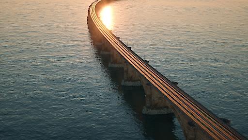 Jean-Monnet-Brücke verbindet Afrika und Europa