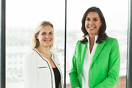 Dr. Livia Daisy Birtalan und Mag. Jasmin Soravia