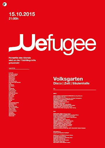 Wefugee Werbe-Sujet