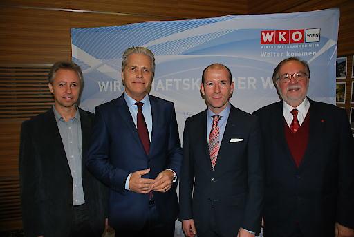 Erwin Eder, Anton Gerald Ofner, Andreas Brandner und Günter Koch (v.l.n.r.)