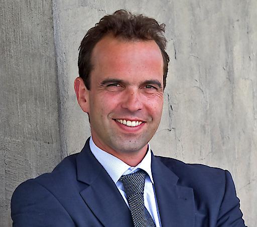 """Mag. Robert Schmid, Geschäftsführer der Baumit Beteiligungen GmbH: """"Der Baumit Standort in Wittenborn ist nun in der Lage quasi als 'Brückenkopf' für den Export nach Dänemark, Finnland Norwegen und Schweden sowie nach Großbritannien zu fungieren""""."""