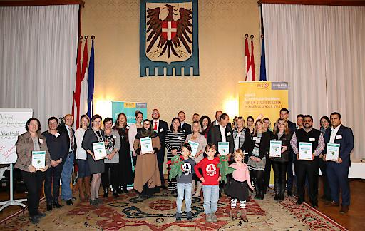 WiNKi-Zertifizierung im Wappensaal des Wiener Rathaus
