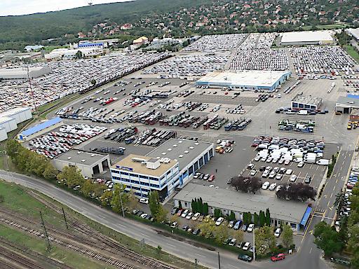 Areal Lagermax Fahrzeuglogistik - Budaörs (2015)
