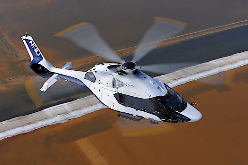 Airbus Helicopter H160 im Peugeot Design