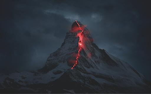 """Key Visual """"Matterhorn calling"""" / Bild: Mammut/Robert Bösch/erdmannpeisker / Weiterer Text über ots und www.presseportal.ch/de/nr/100004679 / Die Verwendung dieses Bildes ist für redaktionelle Zwecke honorarfrei. Veröffentlichung bitte unter Quellenangabe: """"obs/Mammut/Robert Bösch/erdmannpeisker"""""""