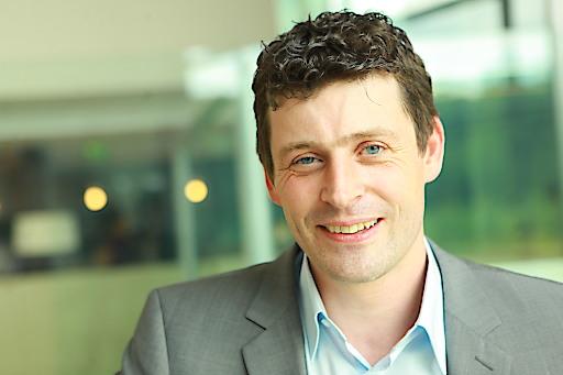 styria digital one-Geschäftsführer Alexis Johann stellt ichschenke.at vor