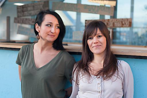 Nataša Mackuljak und Ivana Marjanović - neues Leitungsteam von WIENWOCHE