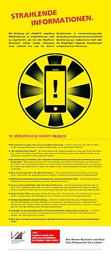 """Ärztekammer legt """"10 Medizinische Handy-Regeln"""" neu auf"""