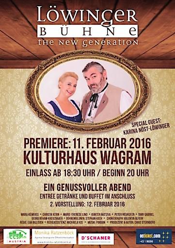 Löwinger Bühne THE NEW GENERATION gibt ihr Debüt