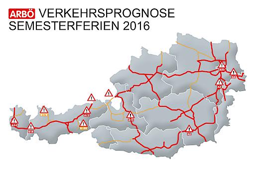 Grafik Verkehrsprognose Semsterferien